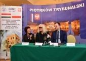 Konferencja prasowa z udziałem prezydenta Krzysztofa Chojniaka i Janosa Kobora.