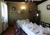 Sala w restauracji Dworek.