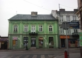 Budynek dawnego Hotelu Kupieckiego.