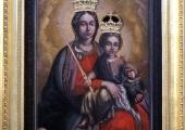Obraz Matki Bożej Trybunalskiej.
