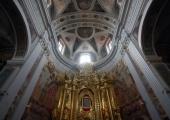 Ołtarz kościoła jezuitów.