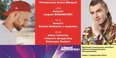 Zapraszamy na koncerty Wojtka Baranowskiego i Kamila Bednarka!!!