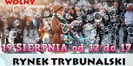 Dzień Baniek Mydlanych w Piotrkowie Trybunalskim!