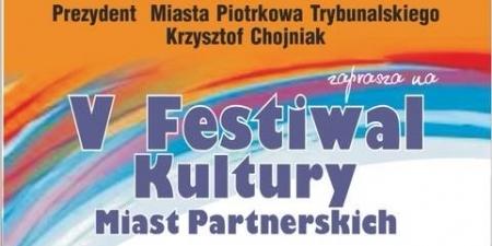 V Festiwal Kultury Miast Partnerskich w ostatni weekend maja!