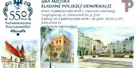 Śladami polskiej demokracji - gra miejska