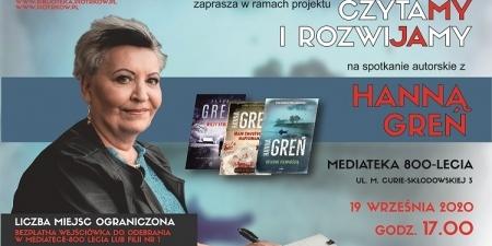 Spotkanie autorskie z Hanną Greń