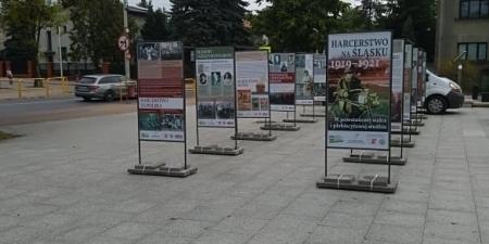 Harcerstwo na Śląsku - wystawa plenerowa
