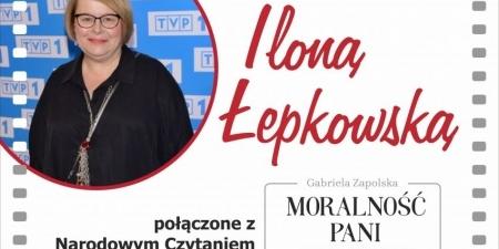 Spotkanie autorskie z Iloną Łepkowską