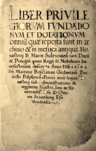 Pierwsza wzmianka o Piotrkowie
