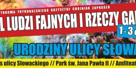 Zapraszamy na Urodziny ulicy Słowackiego!!!