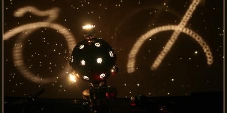 Seans astronomiczny w piotrkowskim Planetarium