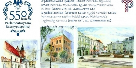 Wycieczki z CIT i PTTK z okazji 550-lecia Parlamentaryzmu RP