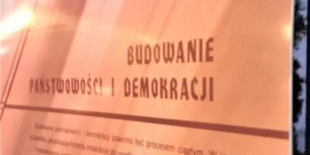 Wystawa plenerowa piotrkowskiego Muzeum