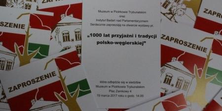 Wystawa o polsko-węgierskiej przyjaźni
